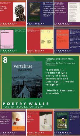 Vertebrae in Poetry Wales' Books of 2019